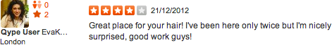 Brazilian keratin treatment testimonial